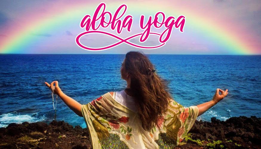 "Carola Reifenrath ""Aloha-Yoga""-Postkarte A6-Schnitt"